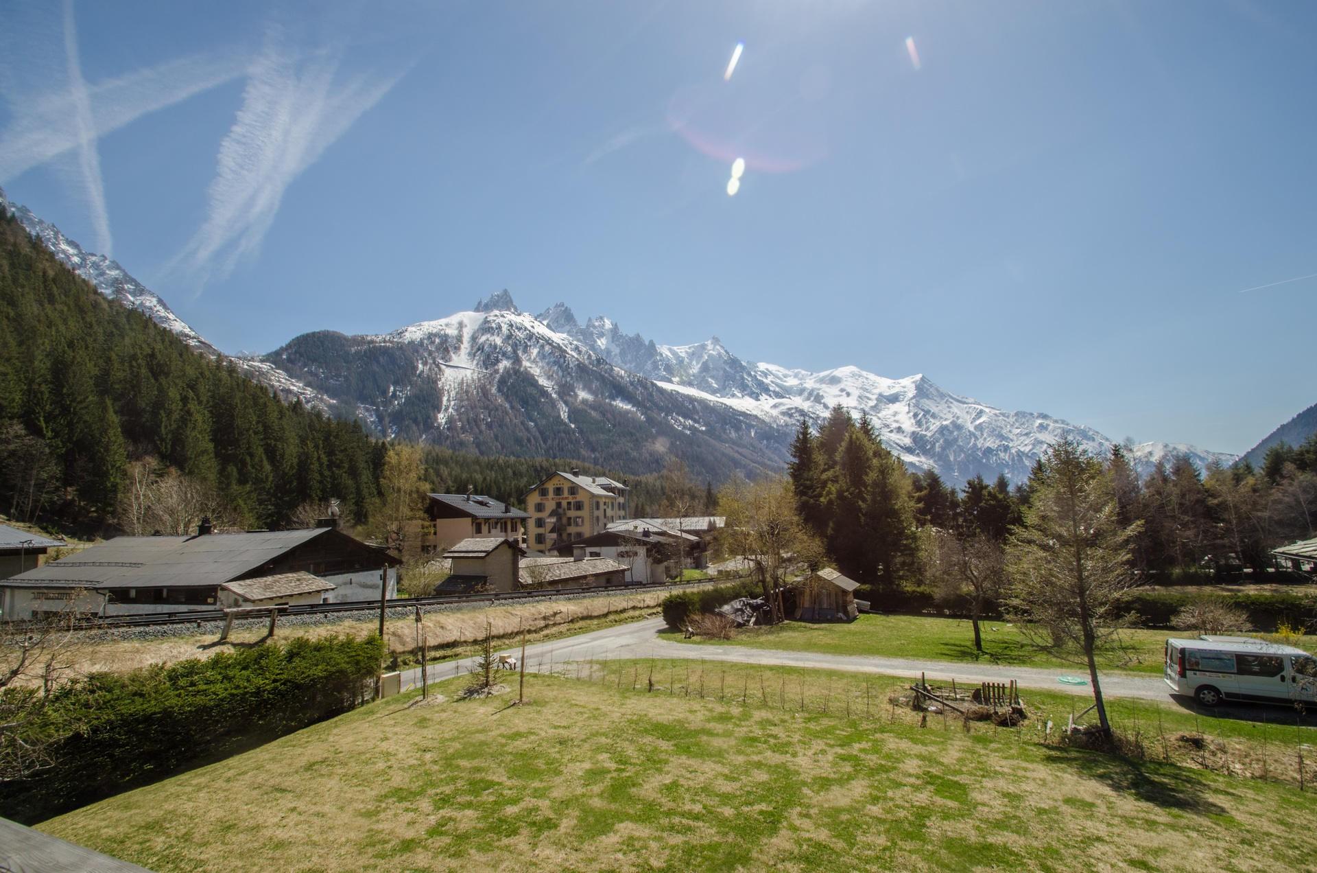 Chamonix Location Chalet Luxe Silène Jardin 3