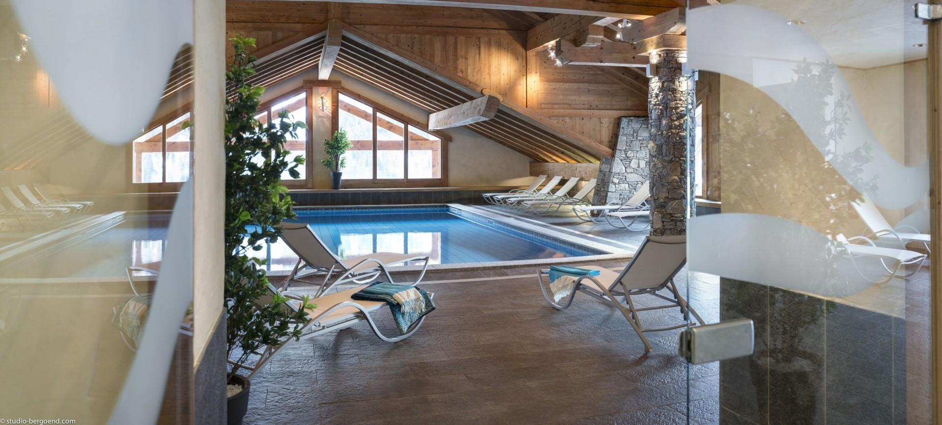 Champagny En Vanoise Location Appartement Luxe Chapminice Piscine