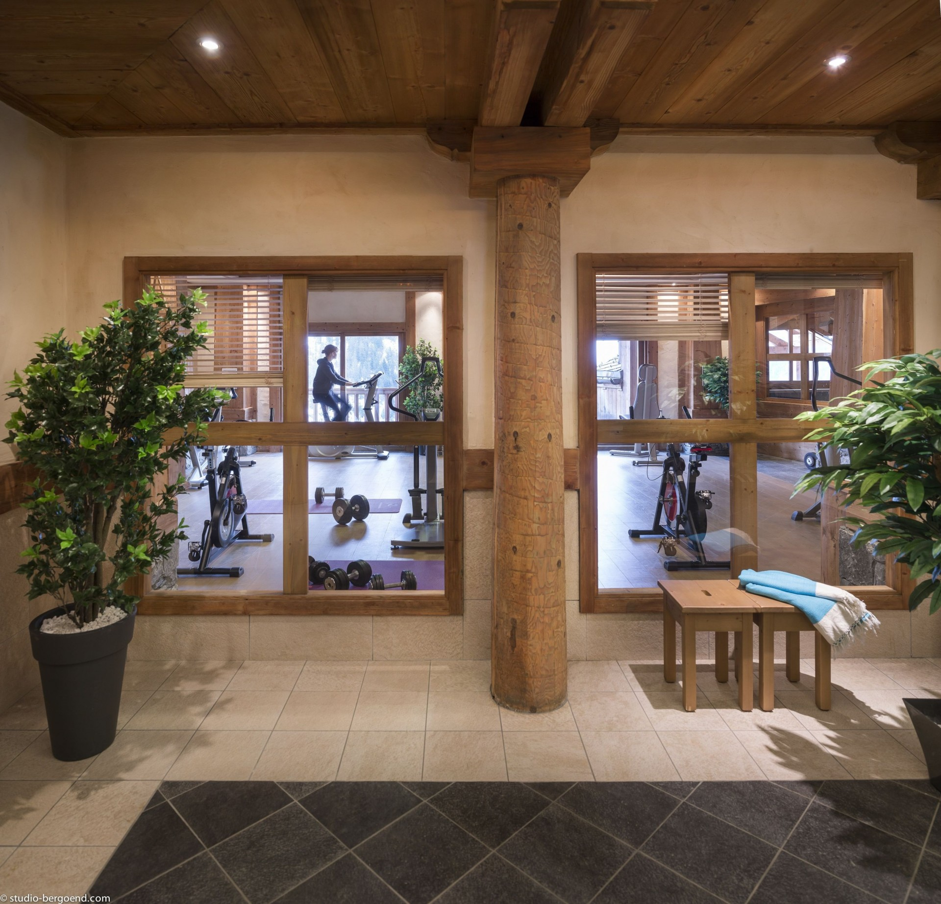 Champagny En Vanoise Location Appartement Luxe Chapminice Salle De Fitness