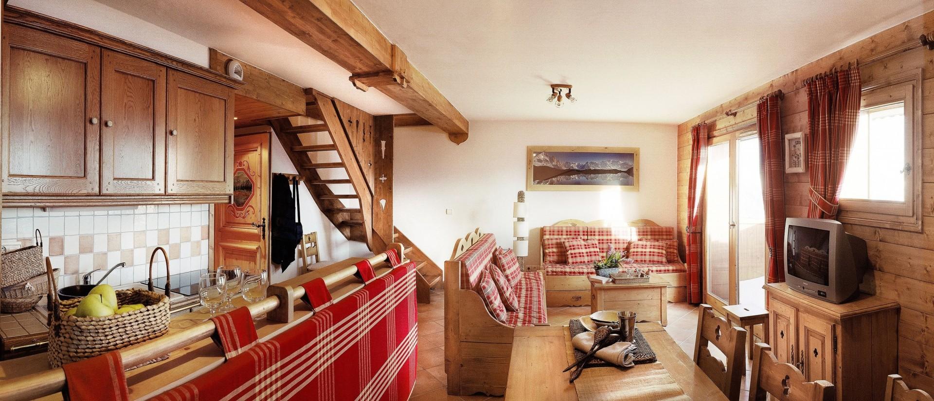 Champagny En Vanoise Location Appartement Luxe Chapminice Salon