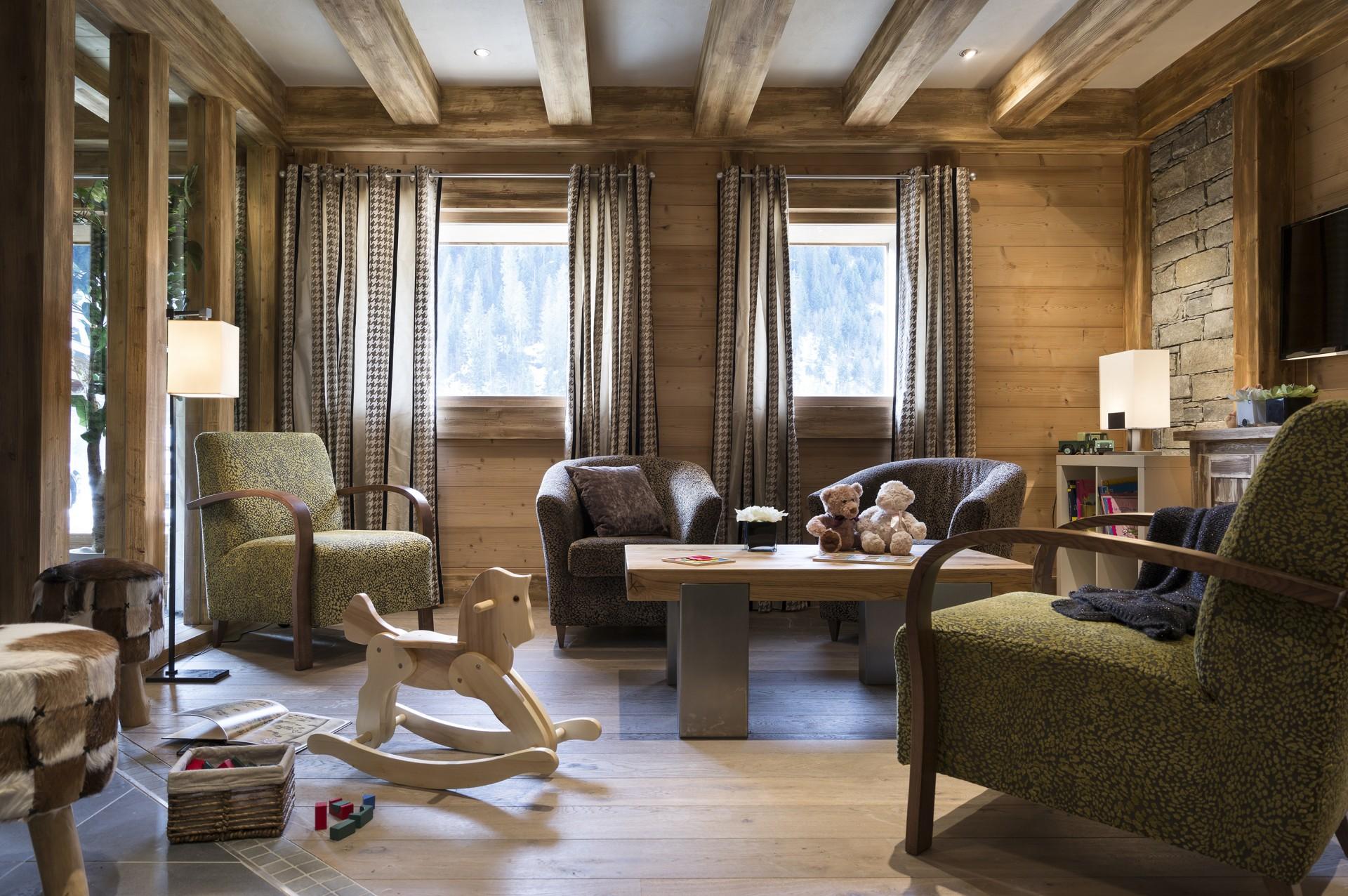 Châtel Rental Apartment Luxury Cupalice Reception
