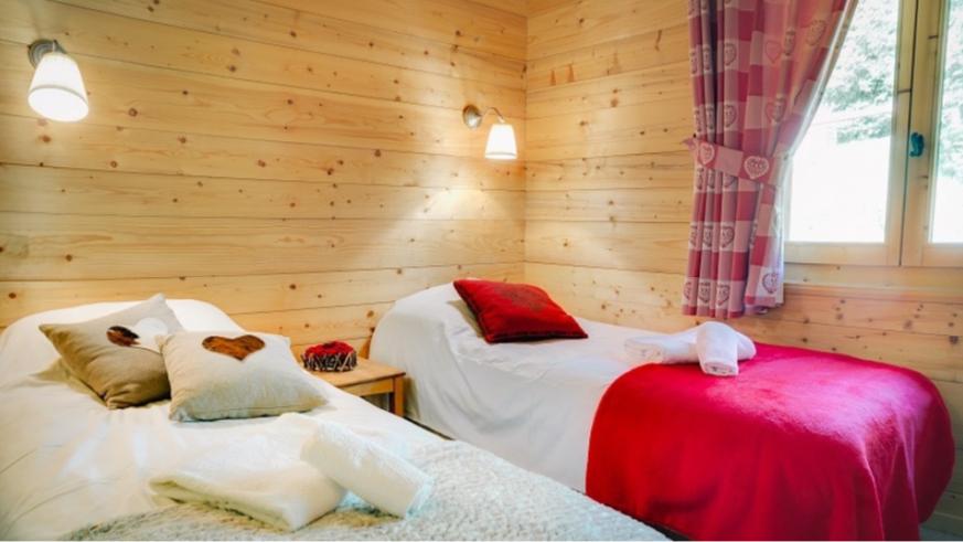 Chatel Luxury Rental Chalet Chadwickite Bedroom