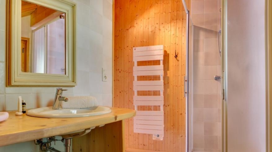 Chatel Luxury Rental Chalet Chadwickite Bathroom
