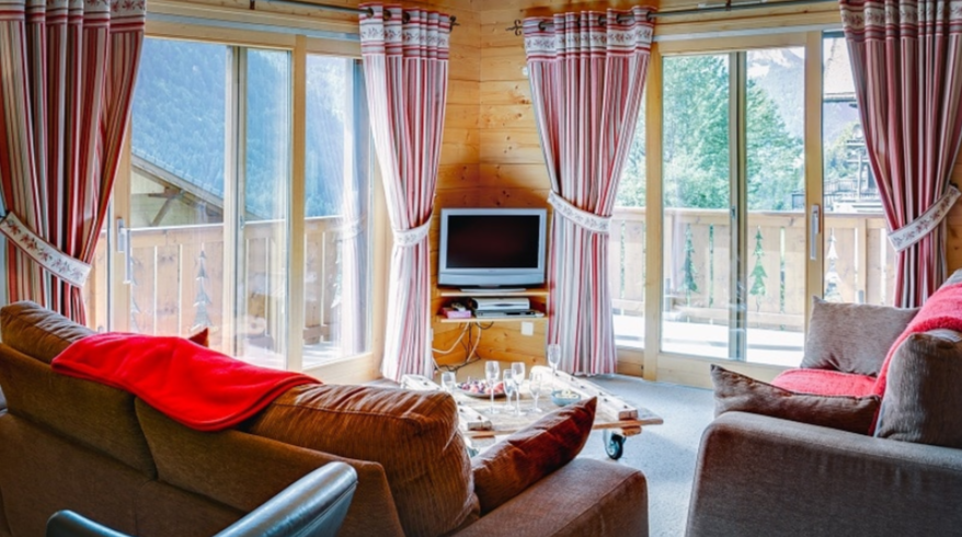 Chatel Luxury Rental Chalet Chadwickite Living Area 2
