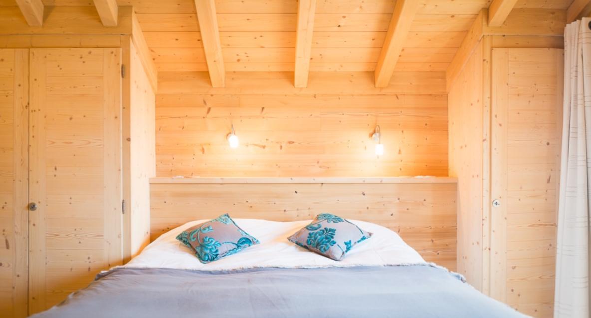 Chatel Luxury Rental Chalet Chalcocyanite Bedroom