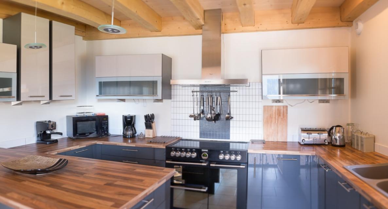 Chatel Luxury Rental Chalet Chalcocyanite Kitchen 2