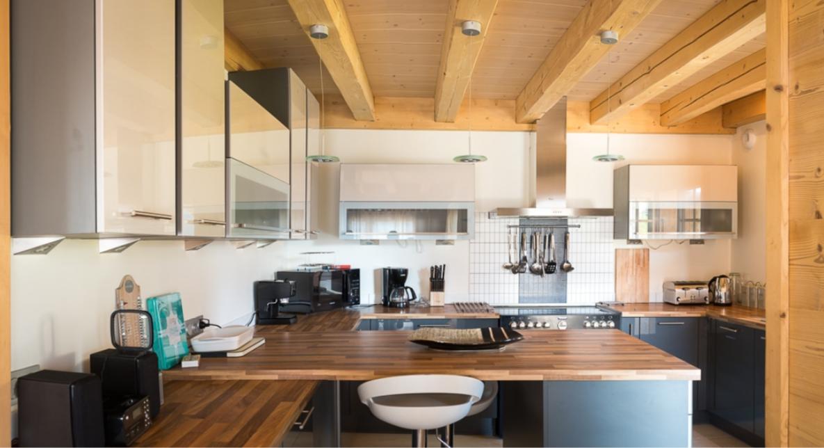 Chatel Luxury Rental Chalet Chalcocyanite Kitchen