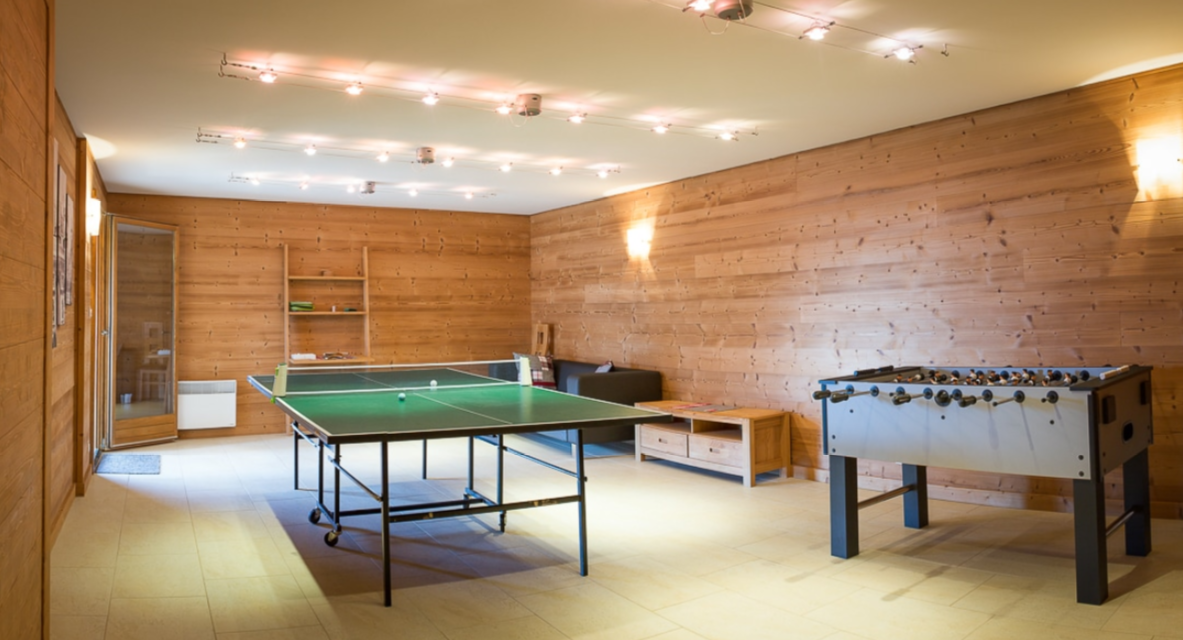 Chatel Luxury Rental Chalet Chalcocyanite Game Area