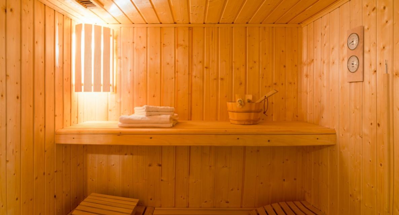 Chatel Luxury Rental Chalet Chalcocyanite Sauna