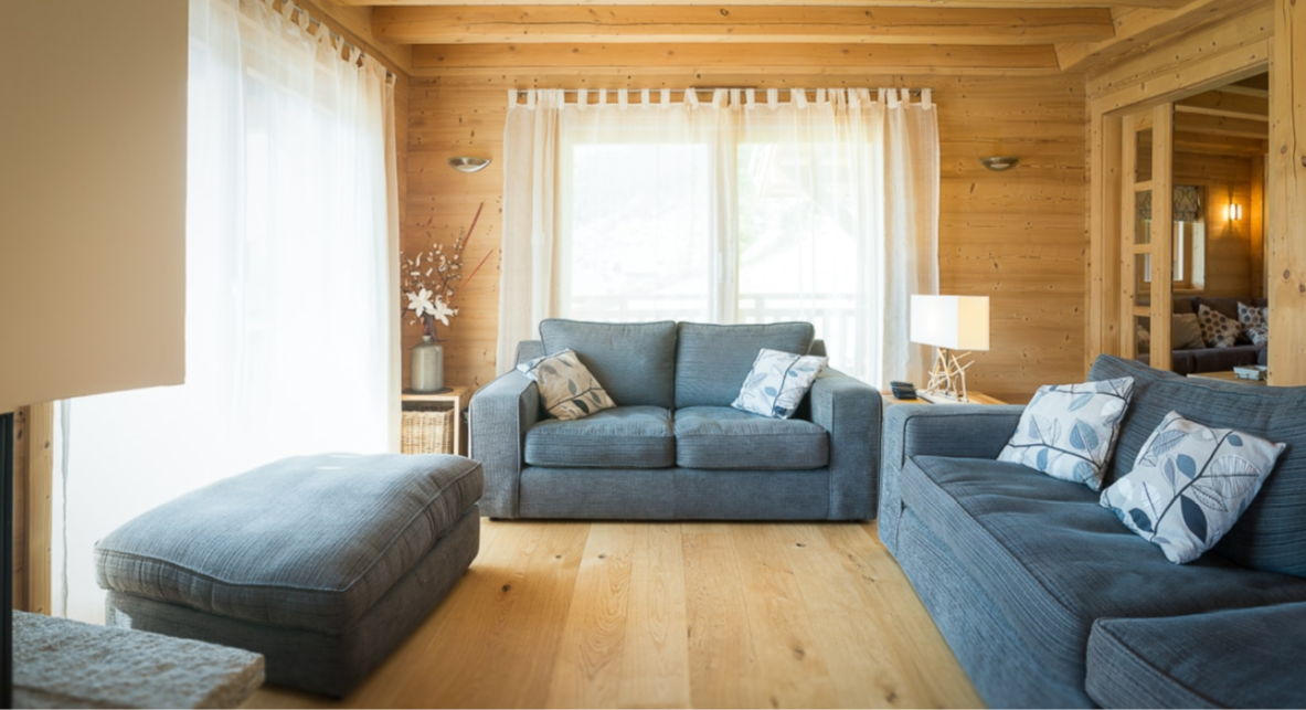 Chatel Luxury Rental Chalet Chalcocyanite Living Area 2