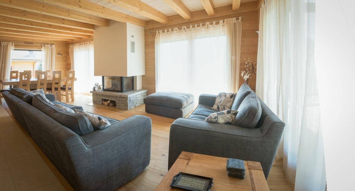 Chatel Luxury Rental Chalet Chalcocyanite Living Area 4