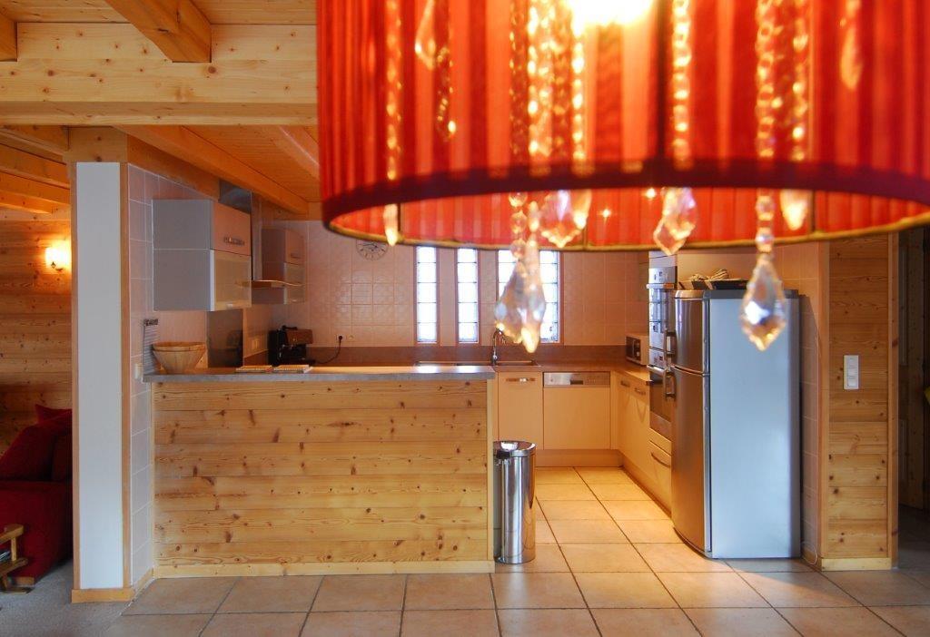 Chatel Location Chalet Luxe Chalcophanite Cuisine 3