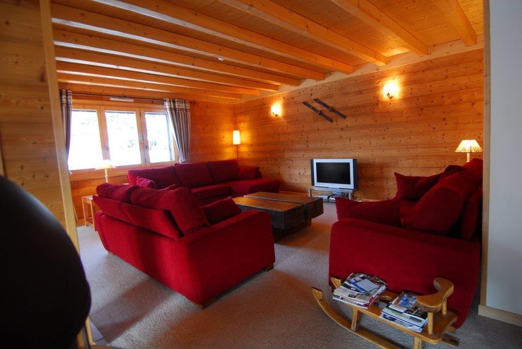 Chatel Location Chalet Luxe Chalcophanite Séjour 2