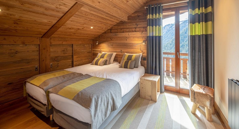 Chatel Luxury Rental Chalet Chambera Bedroom 3