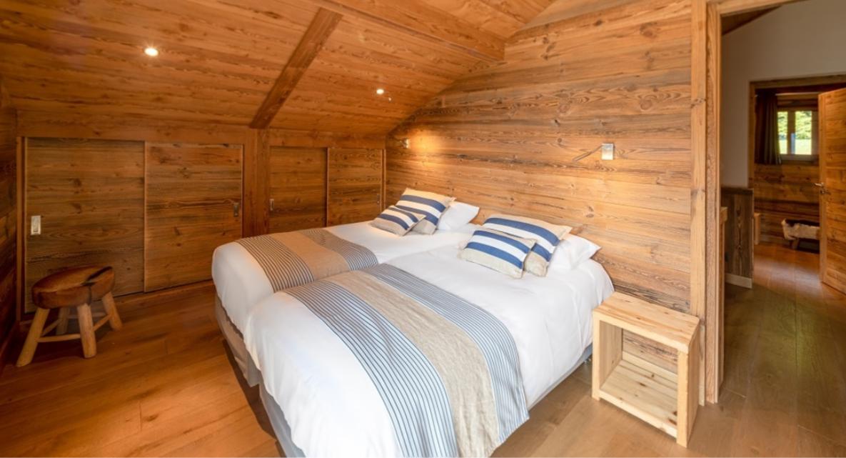 Chatel Luxury Rental Chalet Chambera Bedroom 4