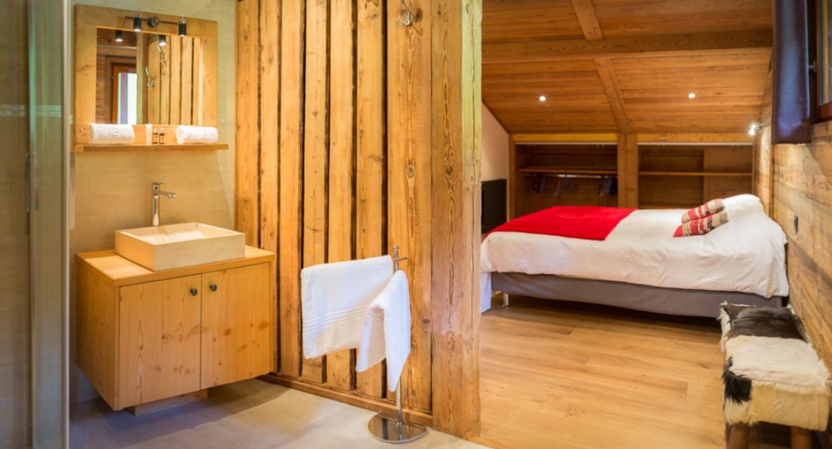 Chatel Luxury Rental Chalet Chambera Bedroom 7