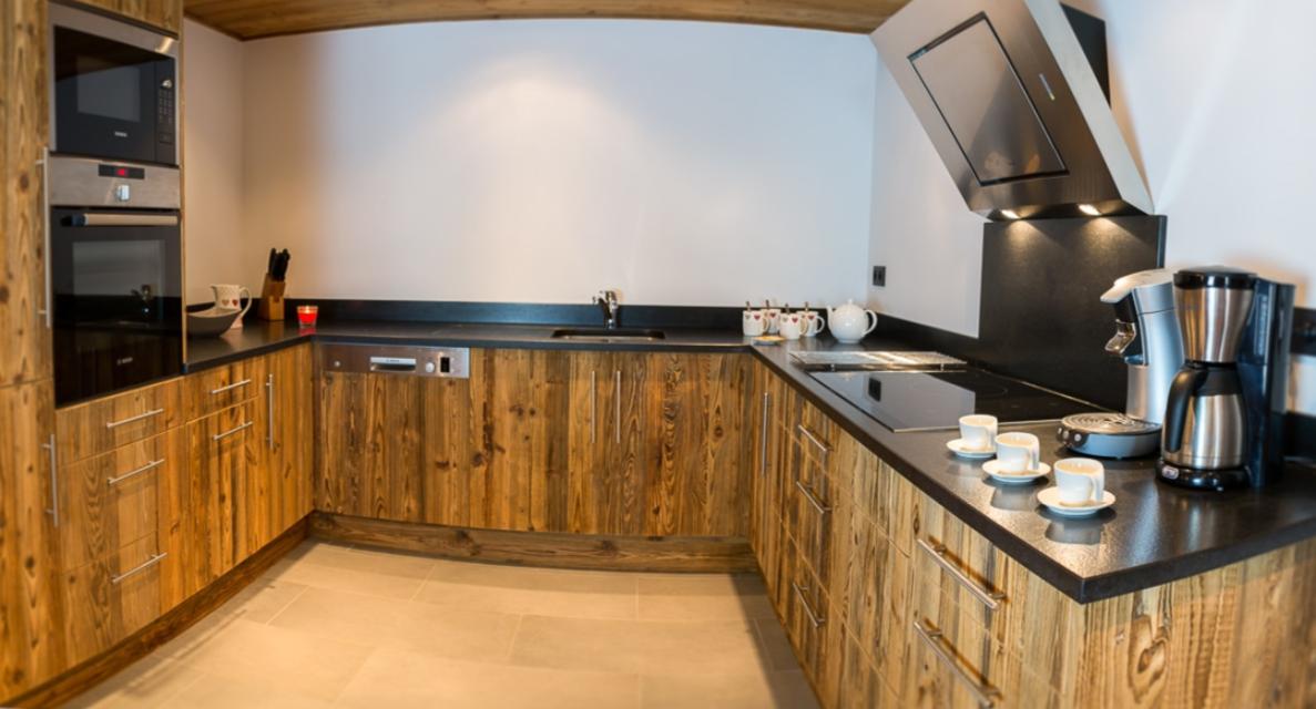 Chatel Luxury Rental Chalet Chambera Kitchen