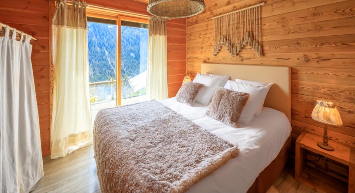Chatel Luxury Rental Chalet Chapa Bedroom