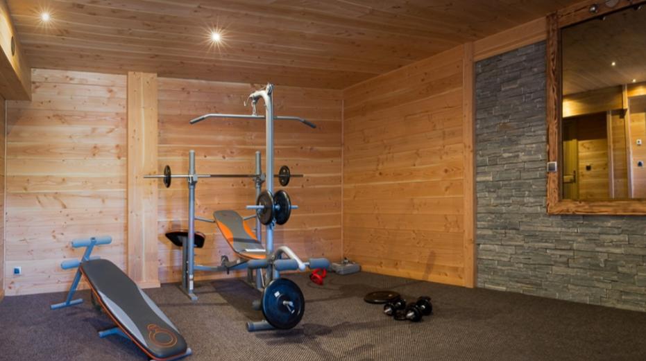 Chatel Luxury Rental Chalet Chapa Fitness Room 2