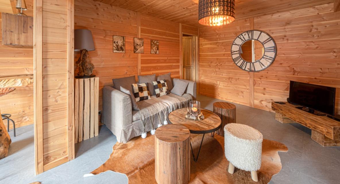 Chatel Luxury Rental Chalet Chapa Living Area 4