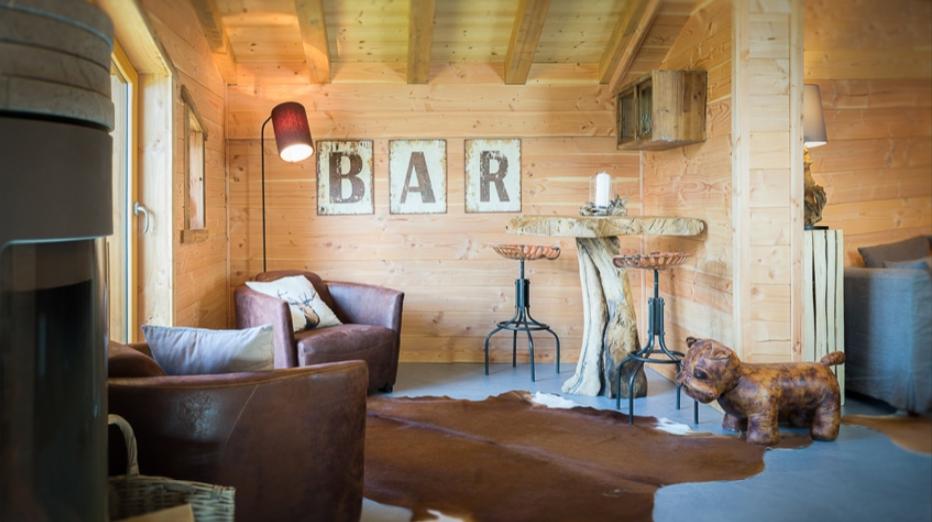 Chatel Luxury Rental Chalet Chapa Living Area