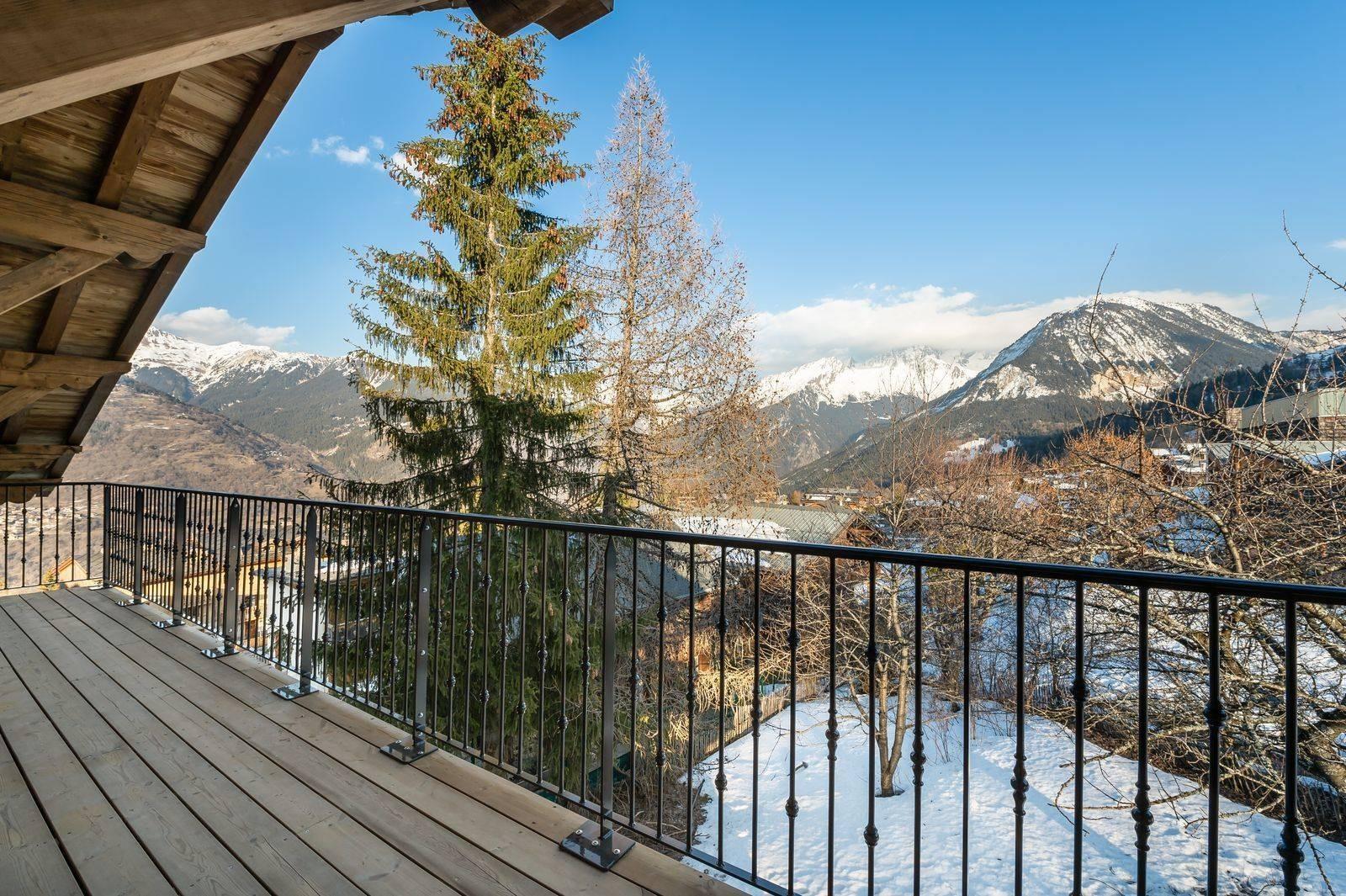 Courchevel 1300 Luxury Rental Appartment Tilanche Terrace 2