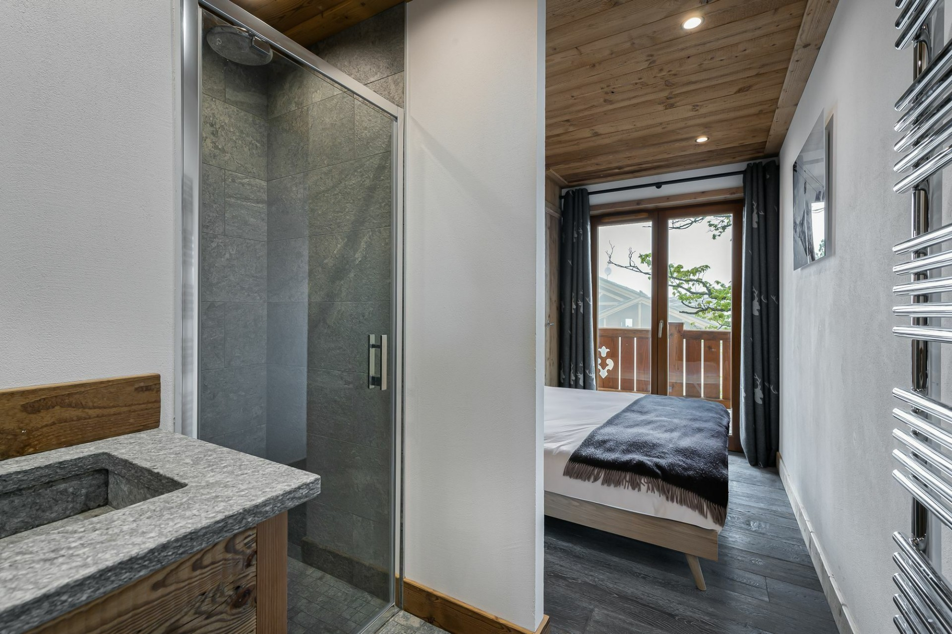 Courchevel 1300 Location Appartement Luxe Tilante Chambre 2