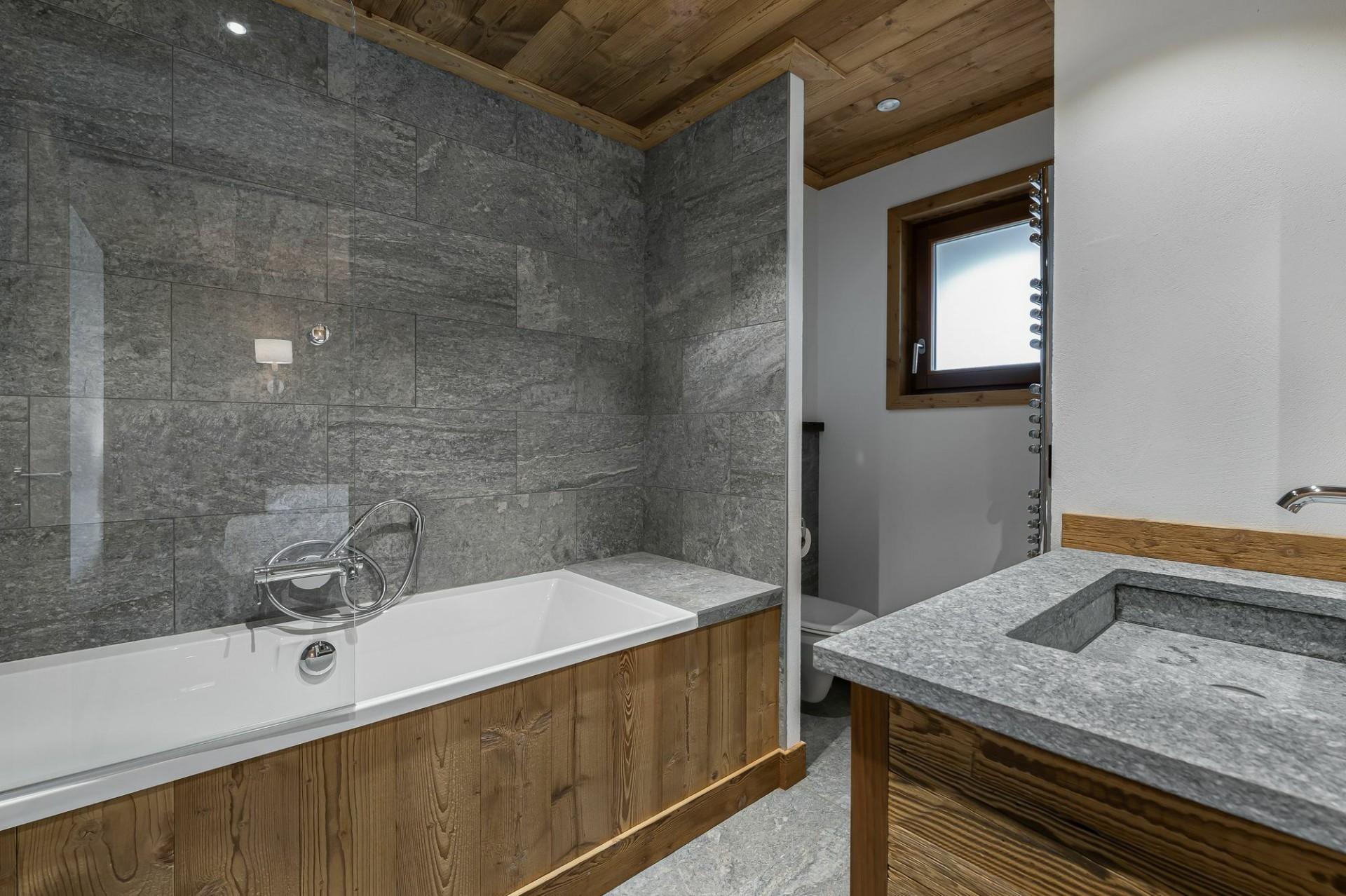 Courchevel 1300 Location Appartement Luxe Tilante Salle De Bain