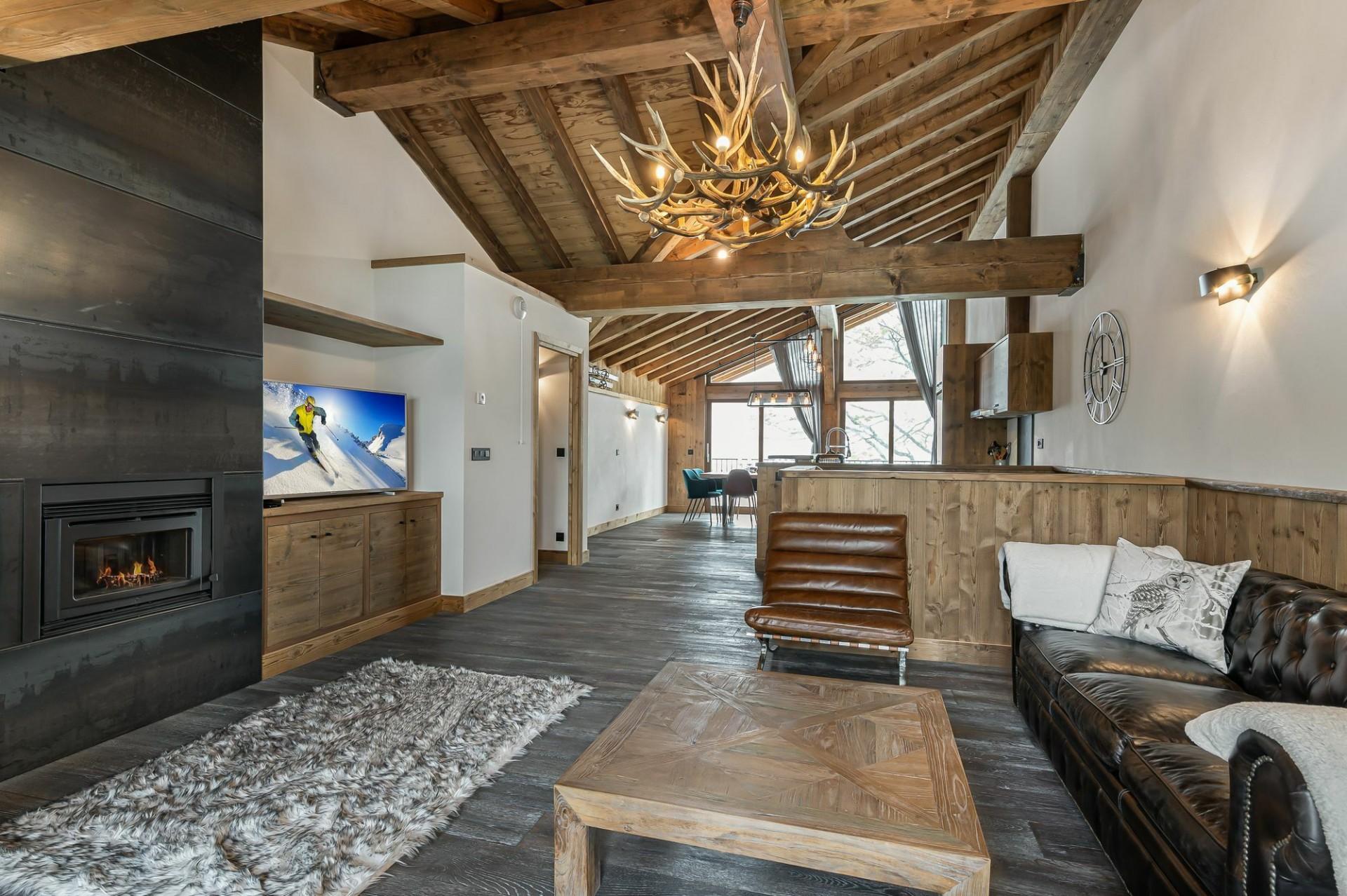 Courchevel 1300 Location Appartement Luxe Tilante Séjour 3