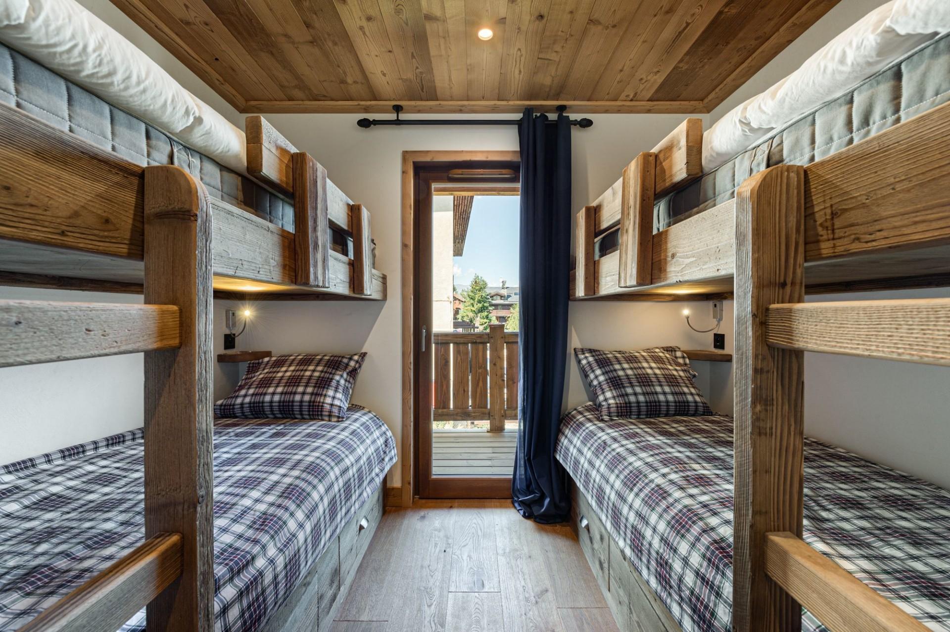 Courchevel 1300 Luxury Rental Appartment Tilite Bedroom