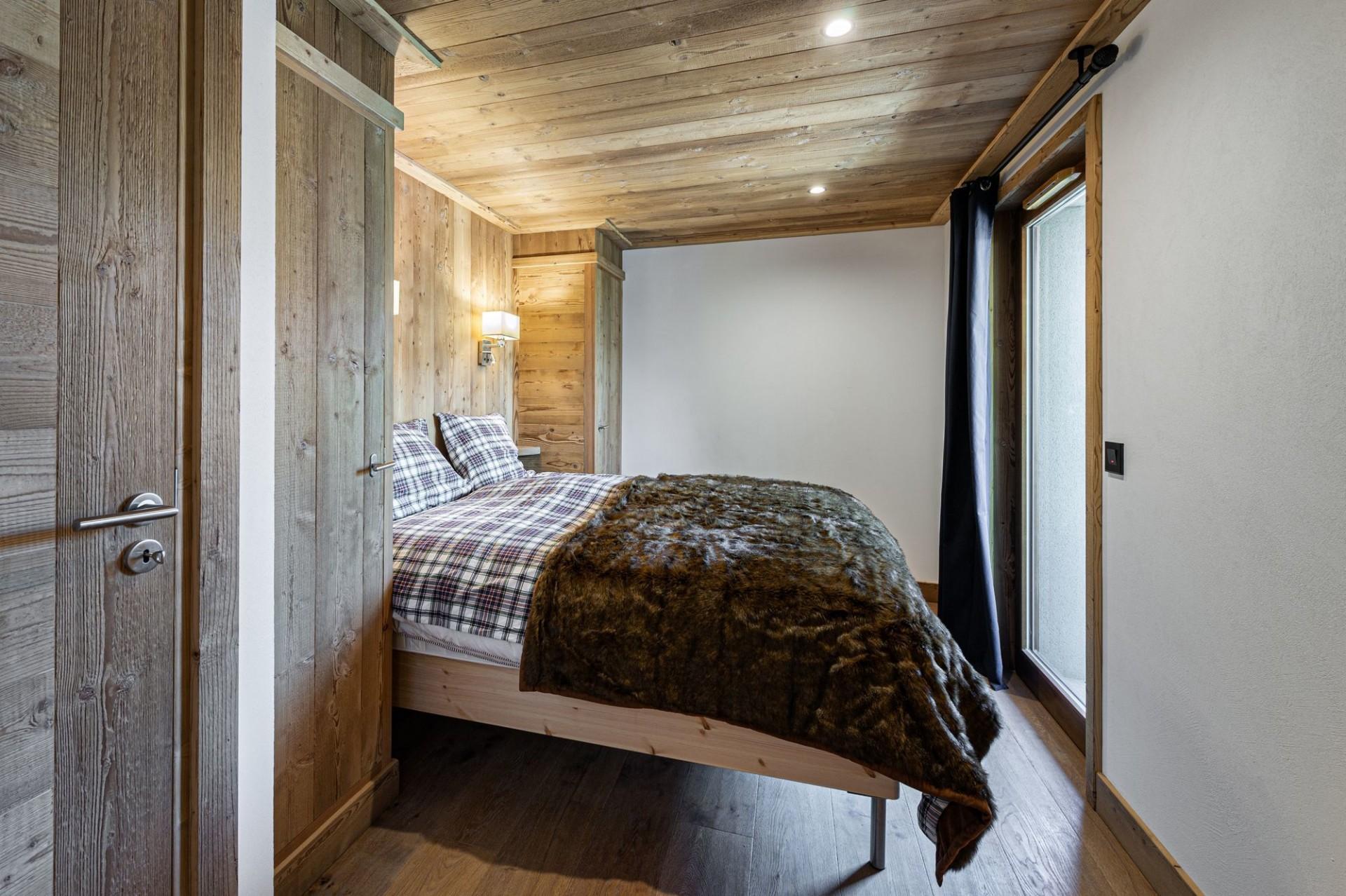 Courchevel 1300 Luxury Rental Appartment Tilite Bedroom 2