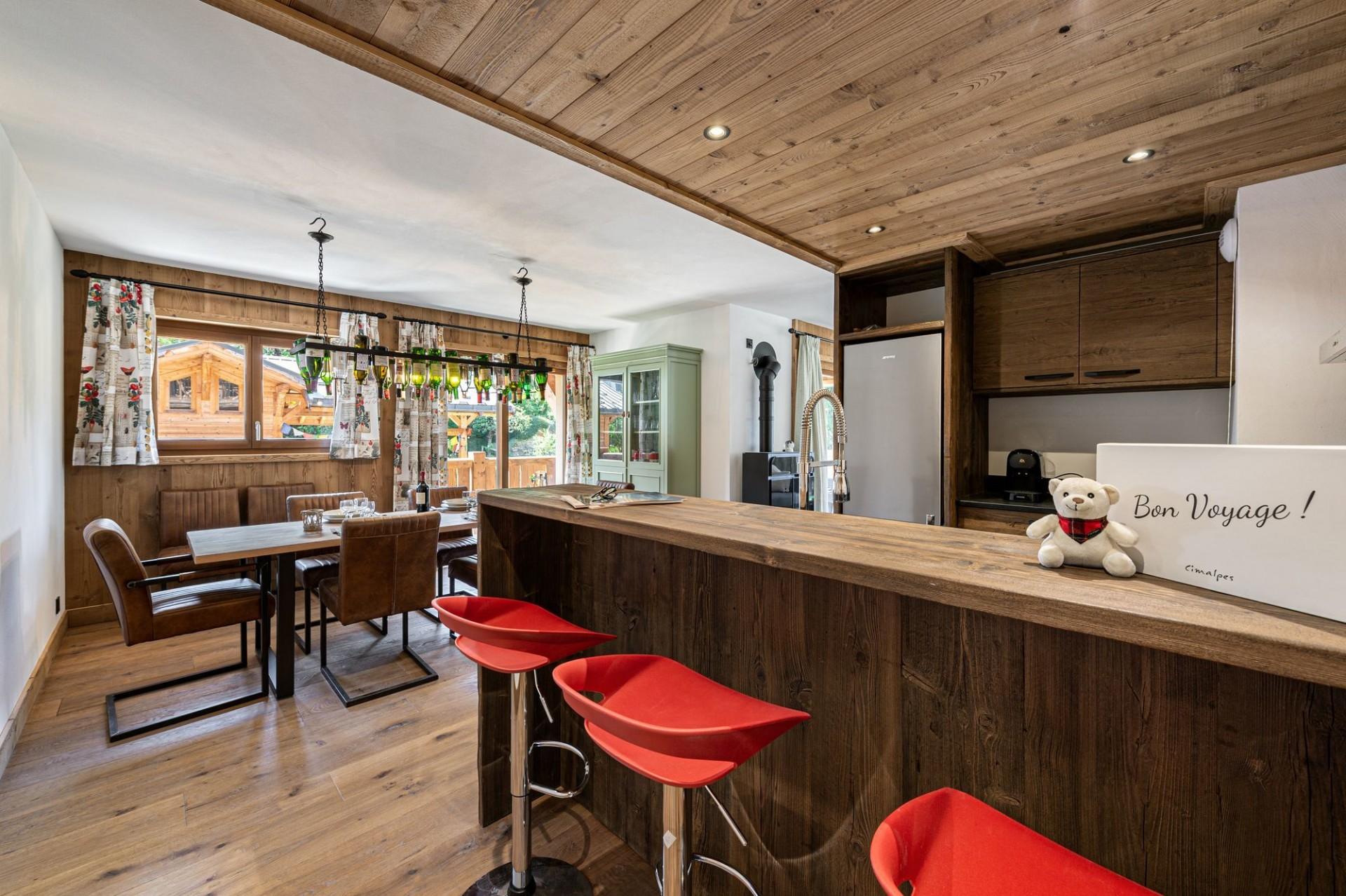 Courchevel 1300 Luxury Rental Appartment Tilite Kitchen 2