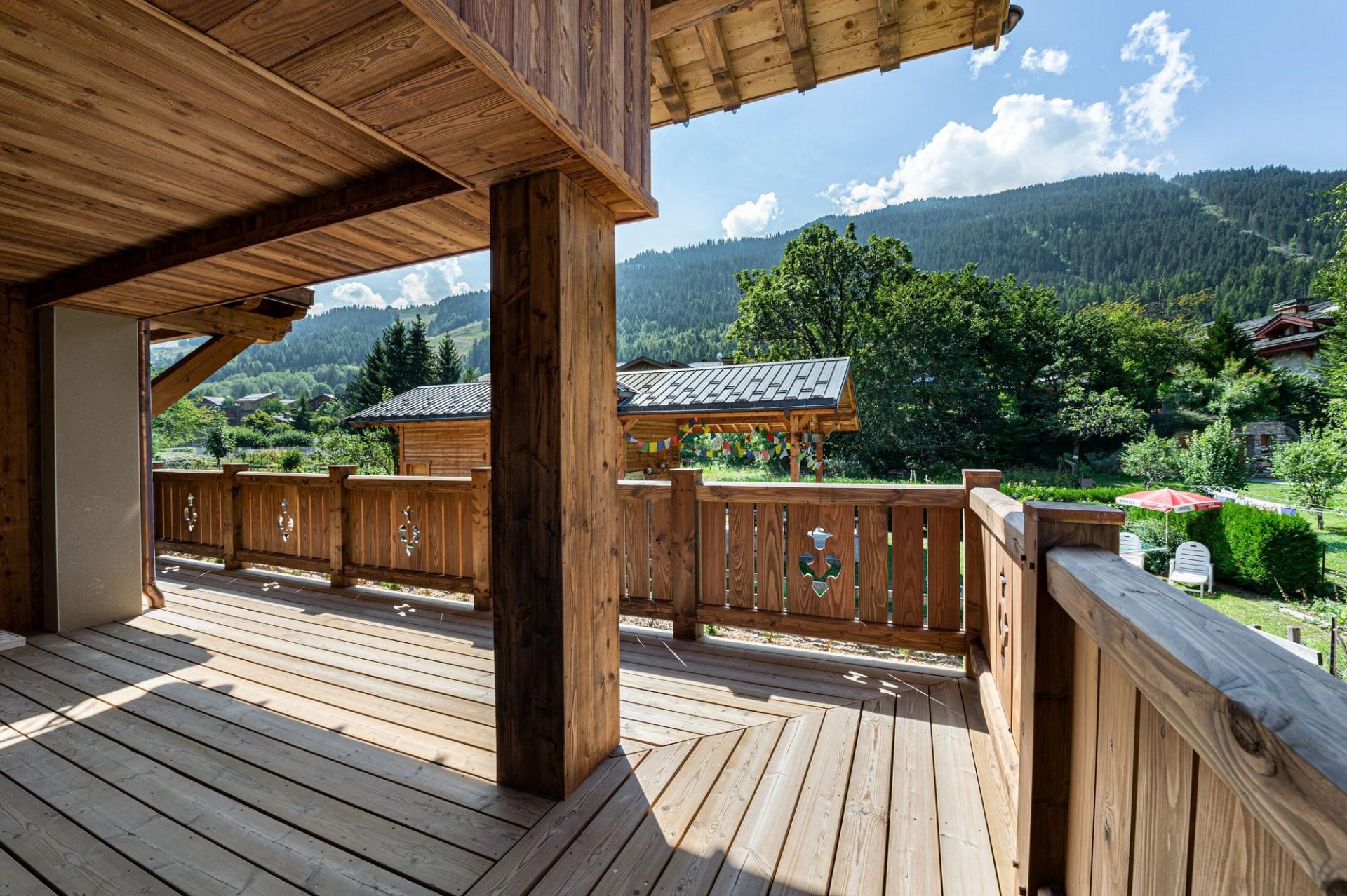 Courchevel 1300 Luxury Rental Appartment Tilite Terrasse