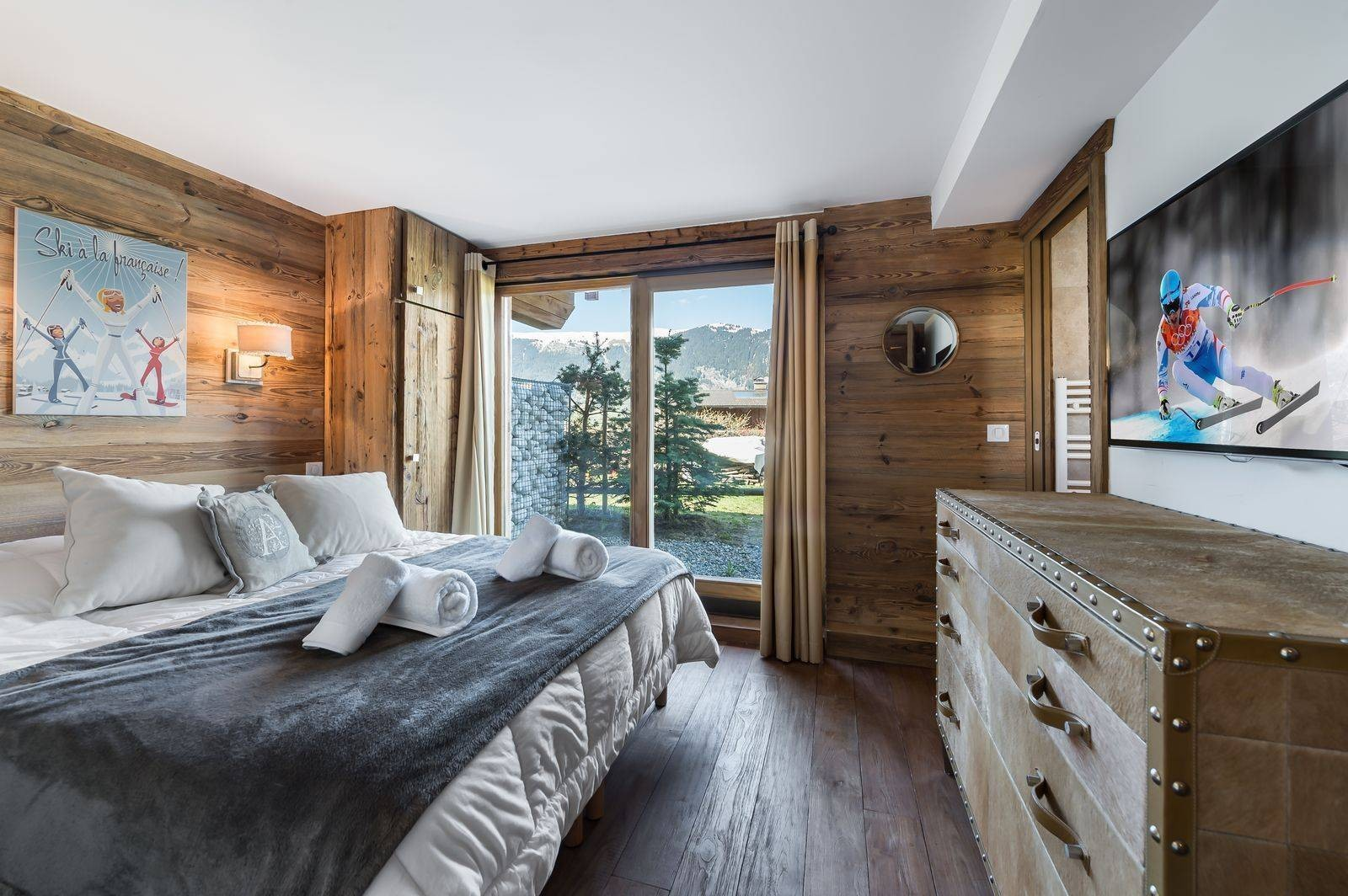 Courchevel 1300 Location Appartement Luxe Tilure Chambre 3