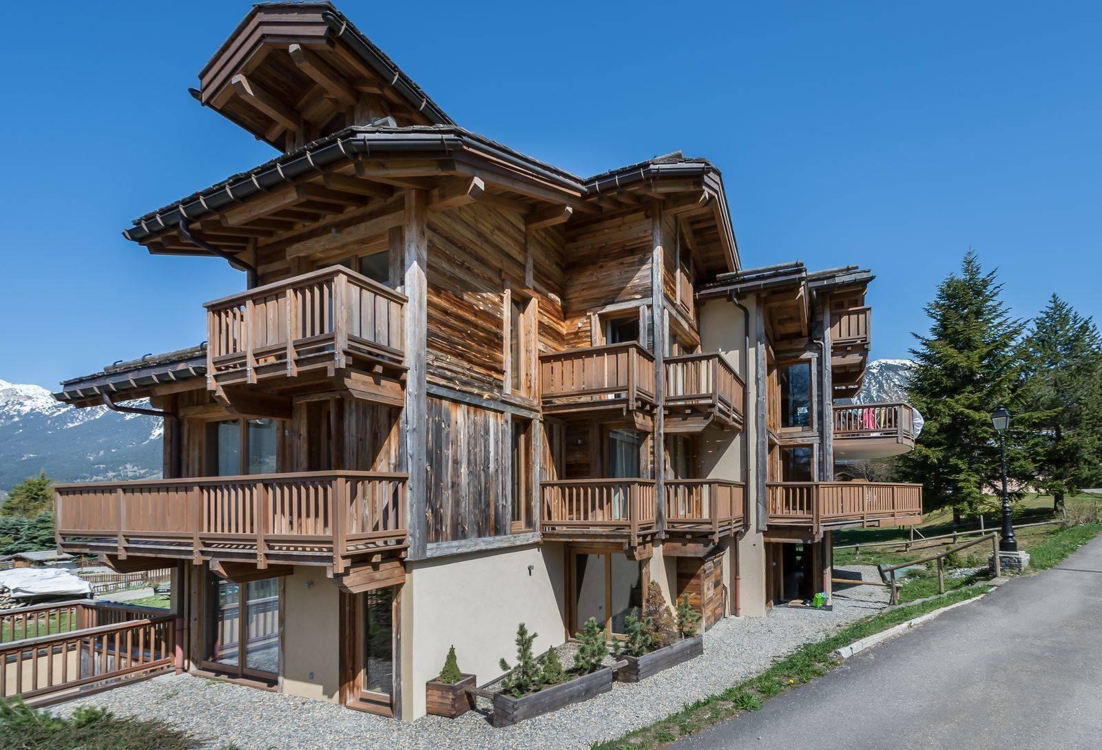 Courchevel 1300 Location Appartement Luxe Tilure Extérieur