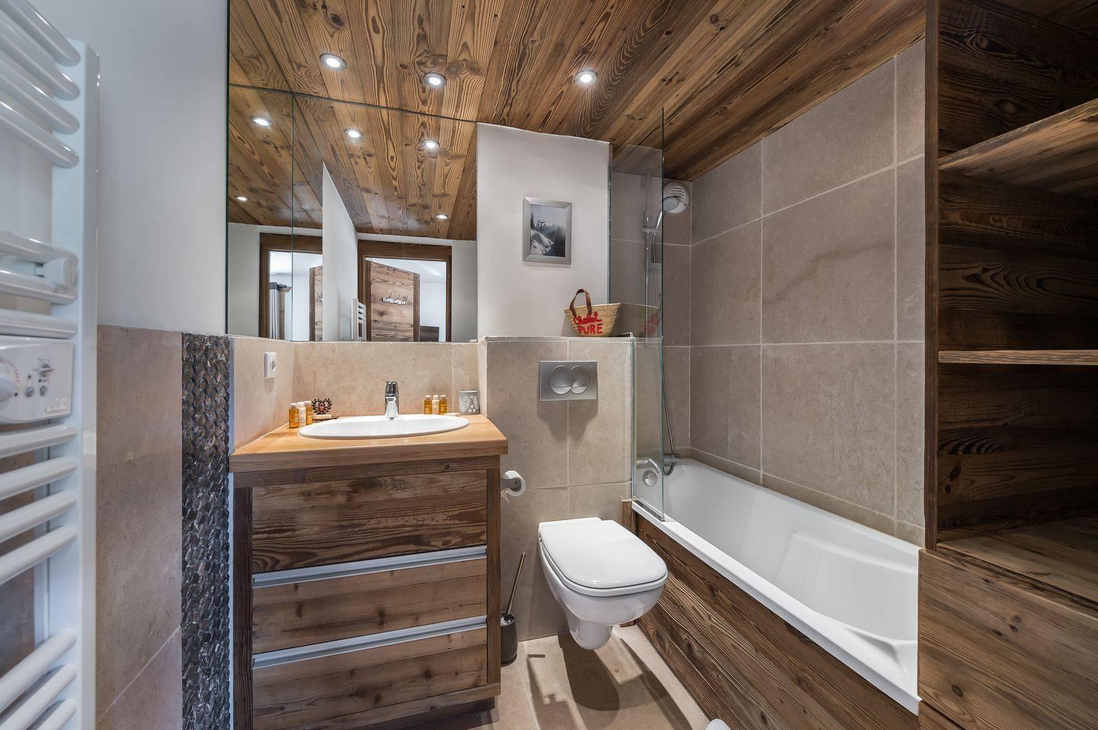 Courchevel 1300 Location Appartement Luxe Tilure Salle De Bain 3