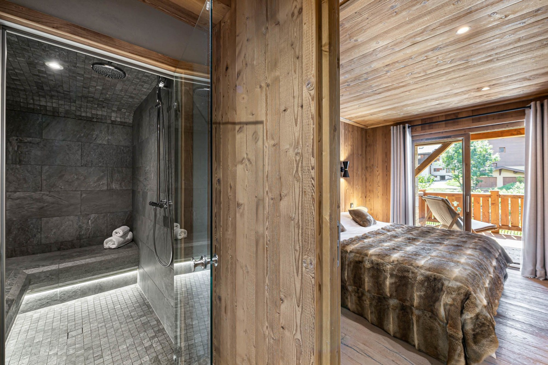 Courchevel 1300 Location Appartement Luxe Tilute Chambre