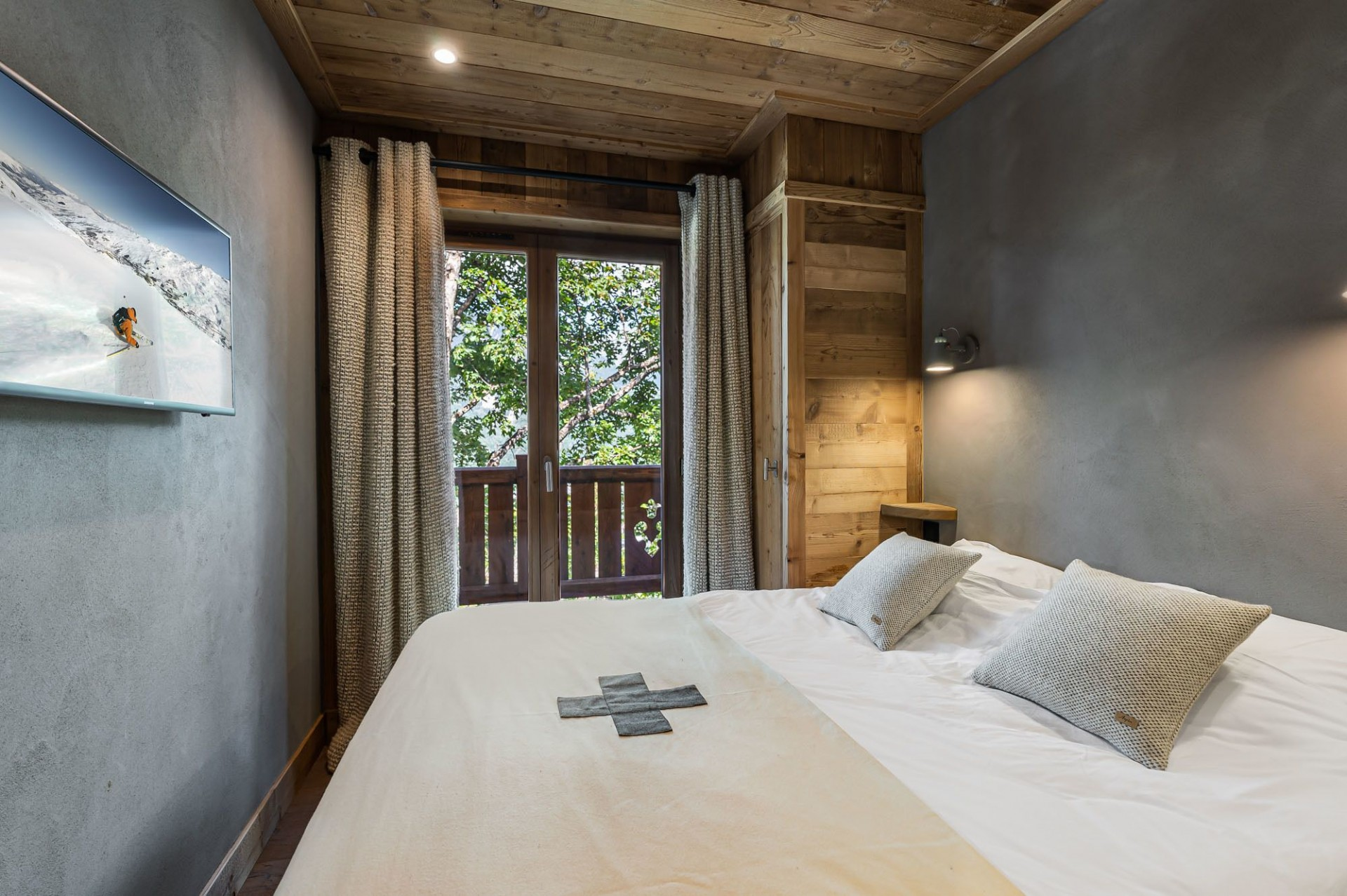 Courchevel 1300 Location Appartement Luxe Tilute Chambre 2