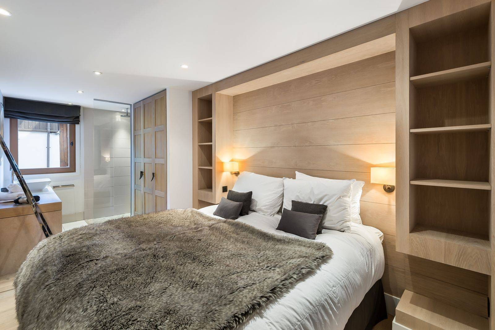 Courchevel 1300 Location Chalet Luxe Nibate Chambre