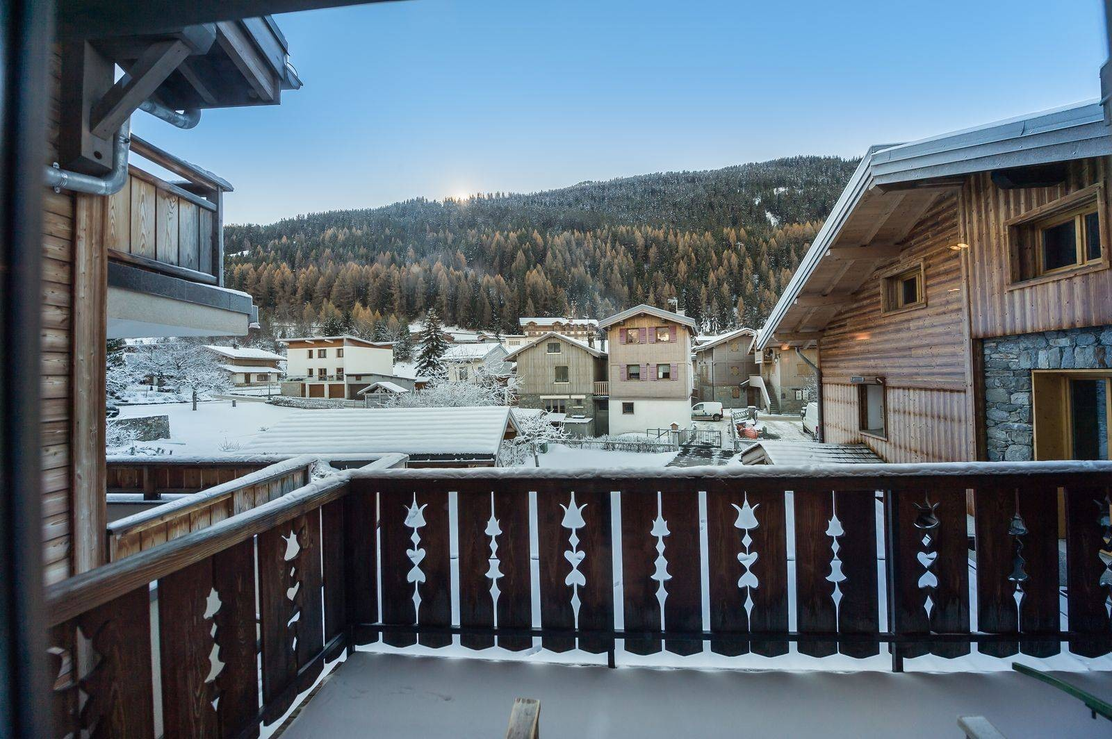 Courchevel 1300 Location Chalet Luxe Nibate Terrasse
