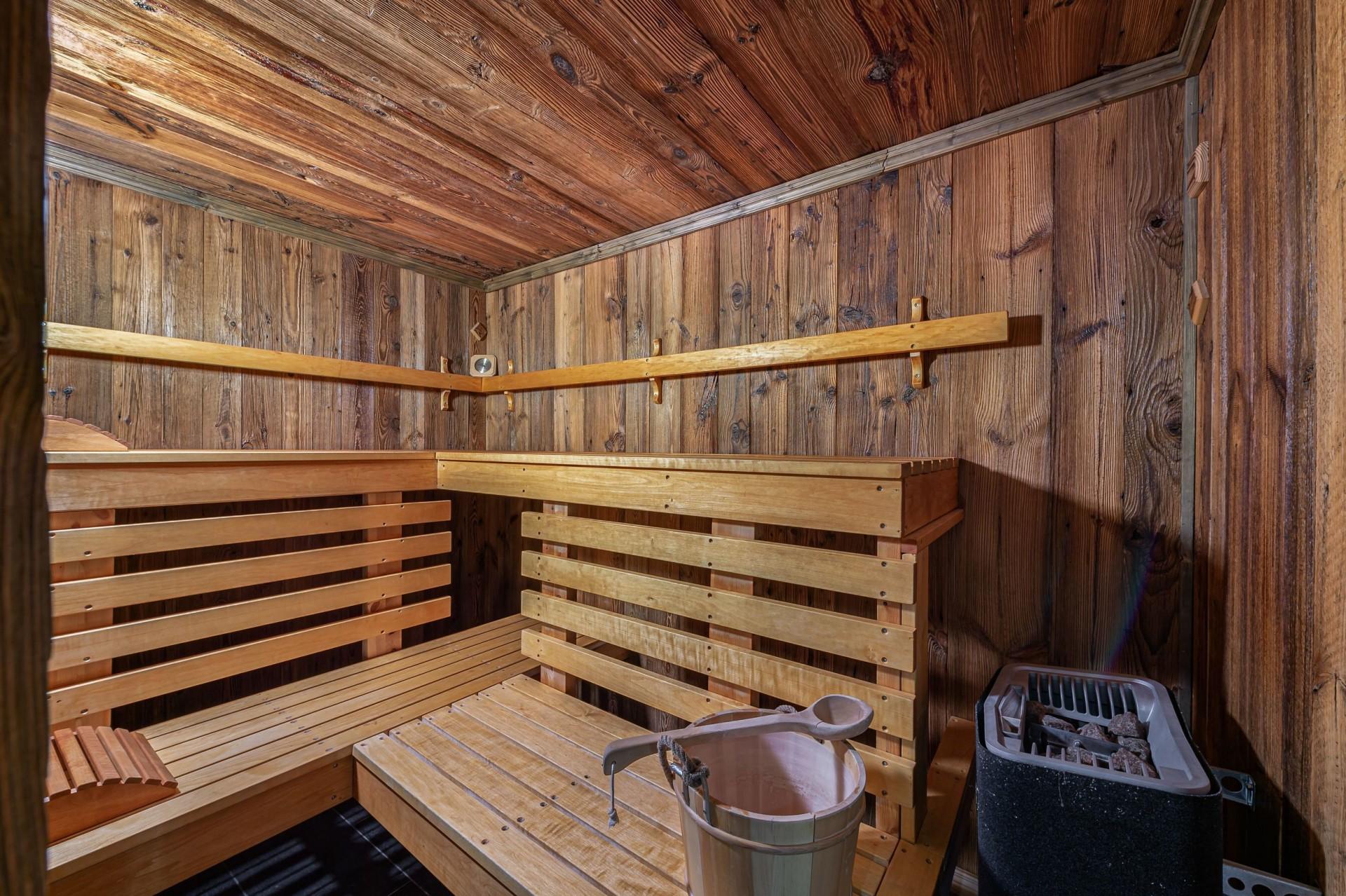Courchevel 1300 Location Chalet Luxe Noubate Sauna