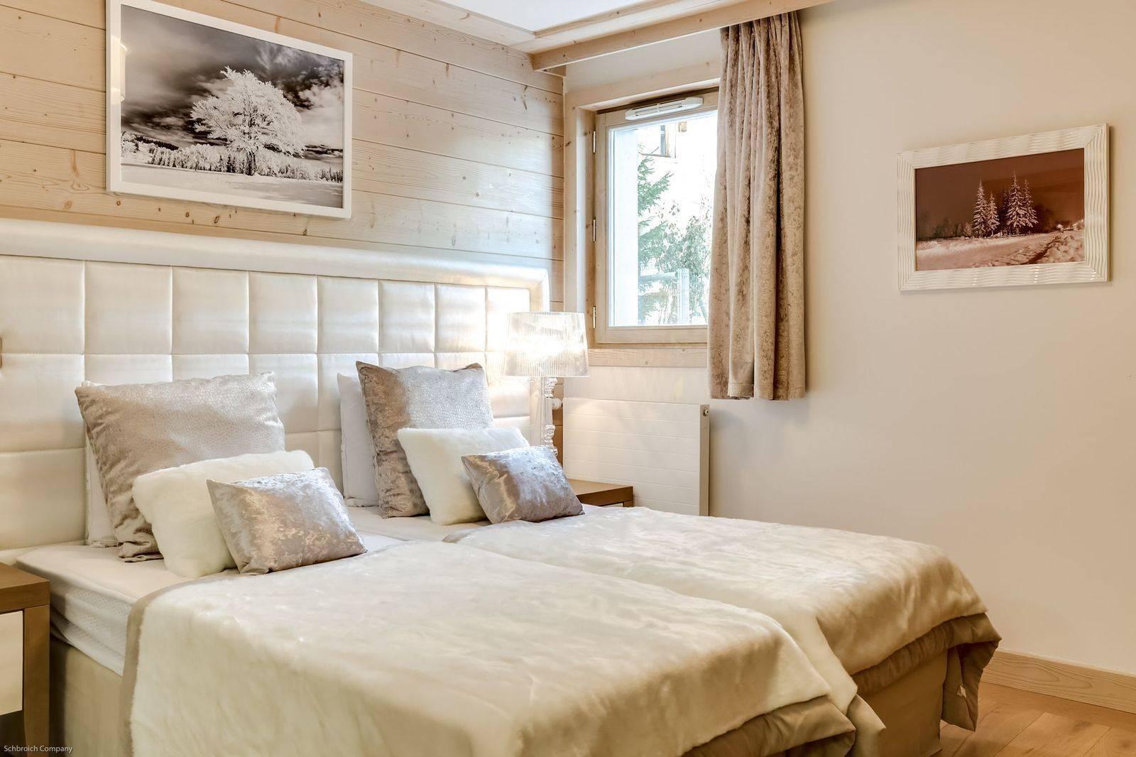 Courchevel 1550 Luxury Rental Appartment Telamite Bedroom