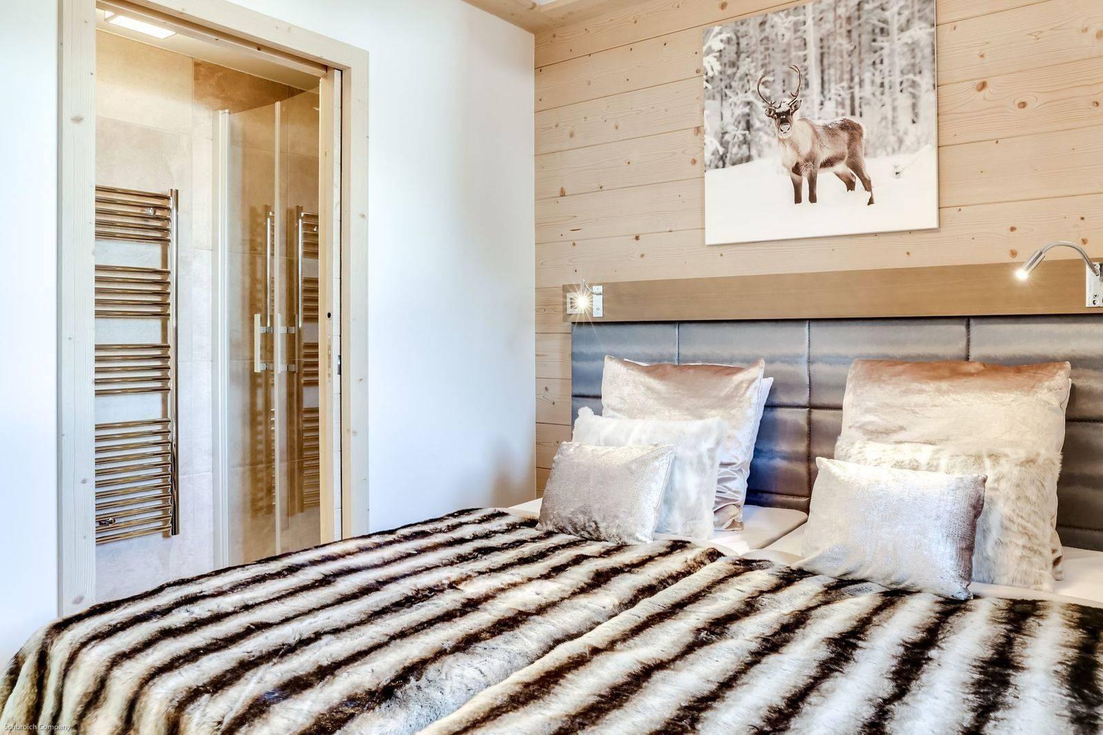 Courchevel 1550 Luxury Rental Appartment Telamite Bedroom 2