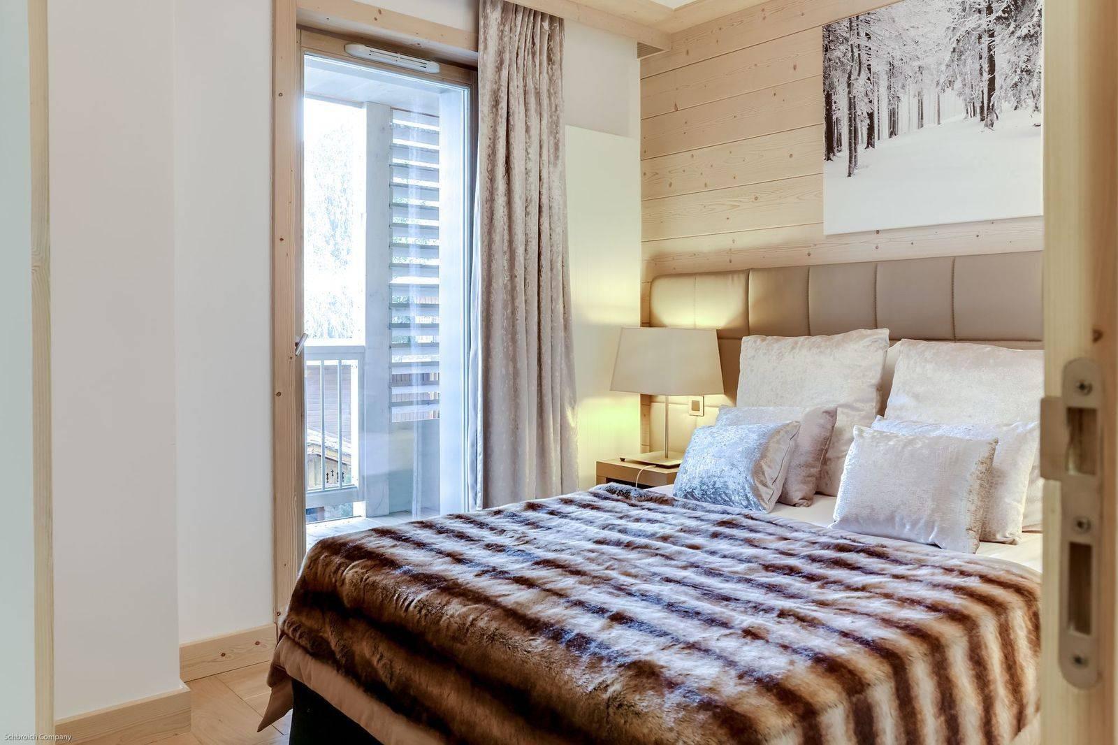 Courchevel 1550 Luxury Rental Appartment Telamite Bedroom 3