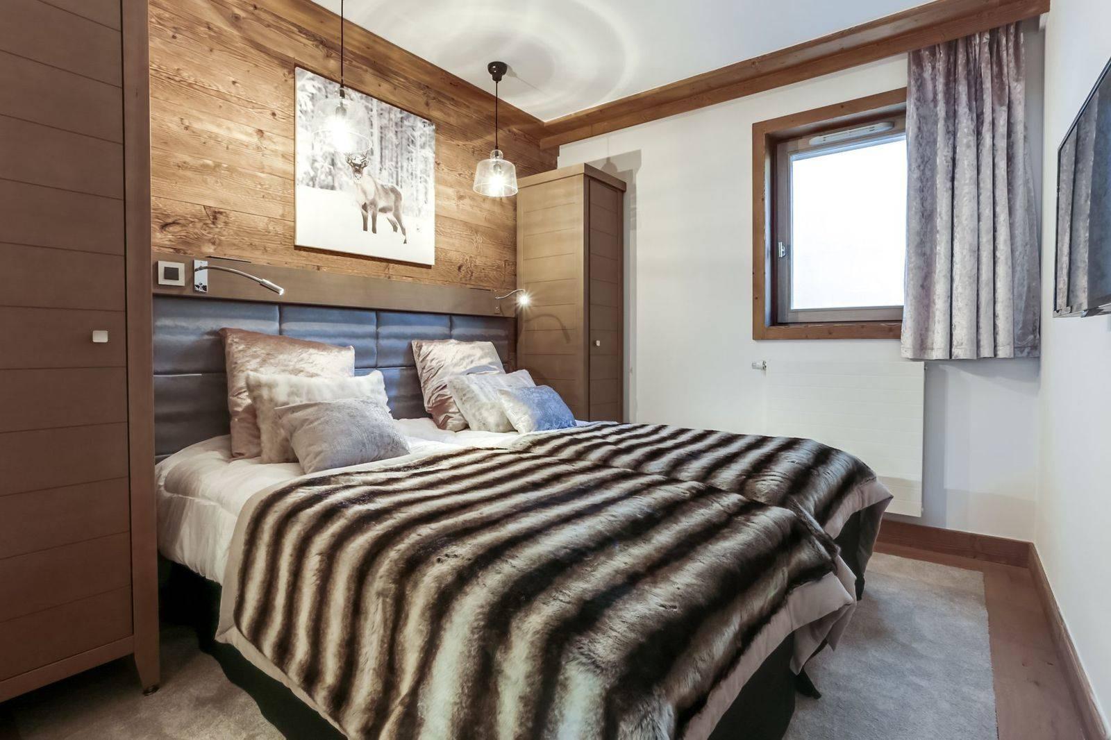 Courchevel 1550 Luxury Rental Appartment Telikia Bedroom