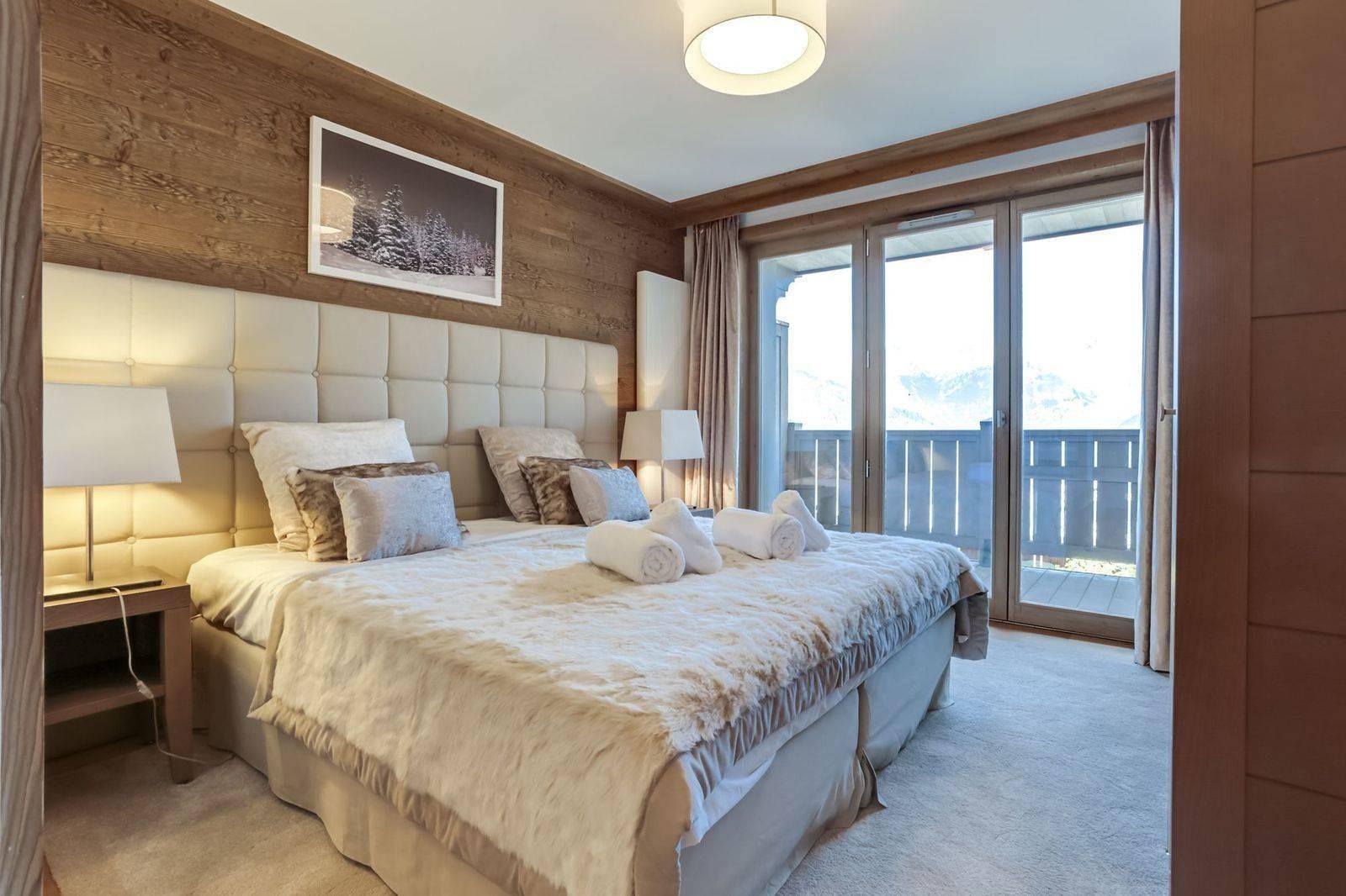 Courchevel 1550 Luxury Rental Appartment Telikia Bedroom 2