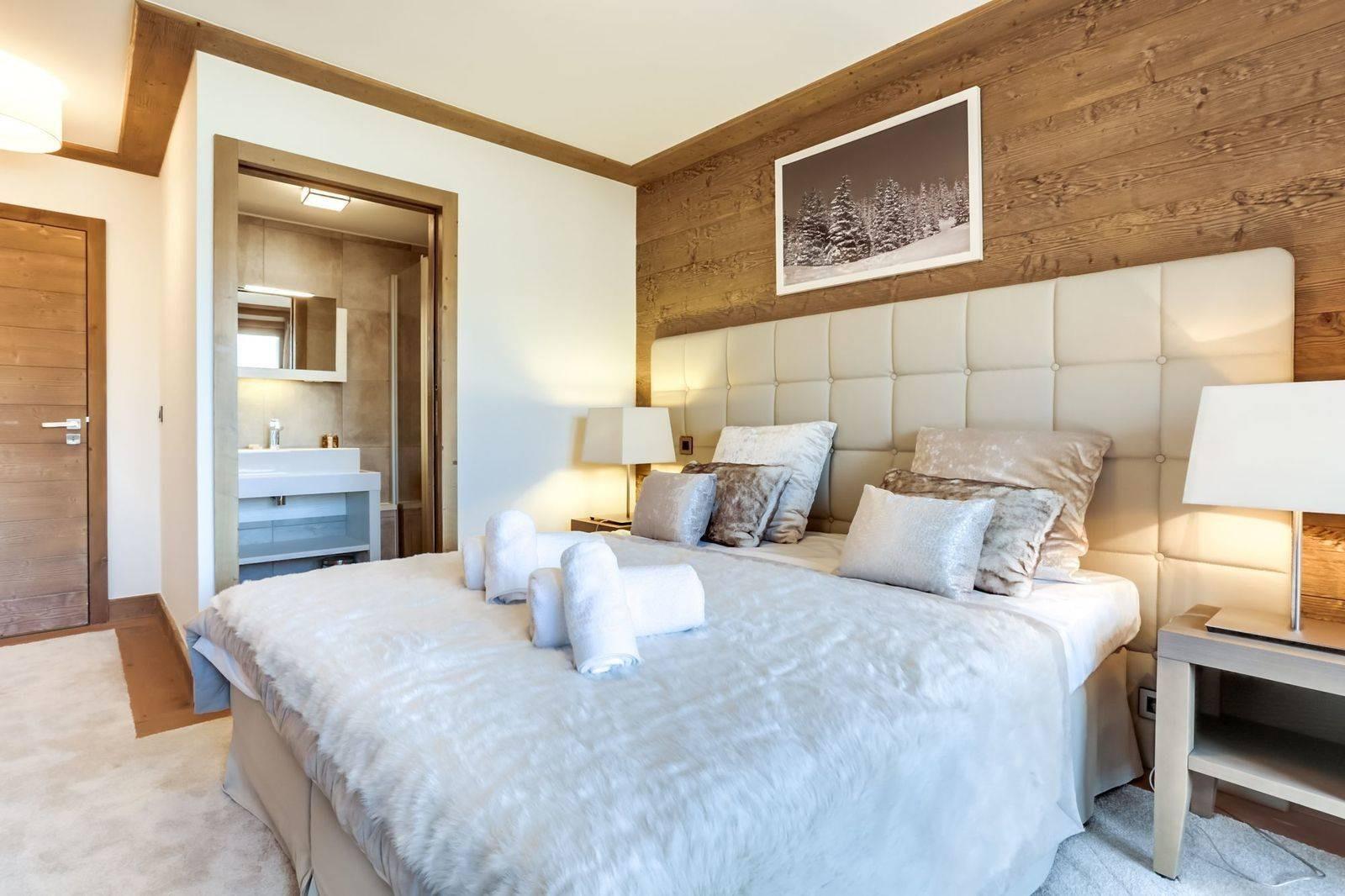 Courchevel 1550 Luxury Rental Appartment Telikia Bedroom 3