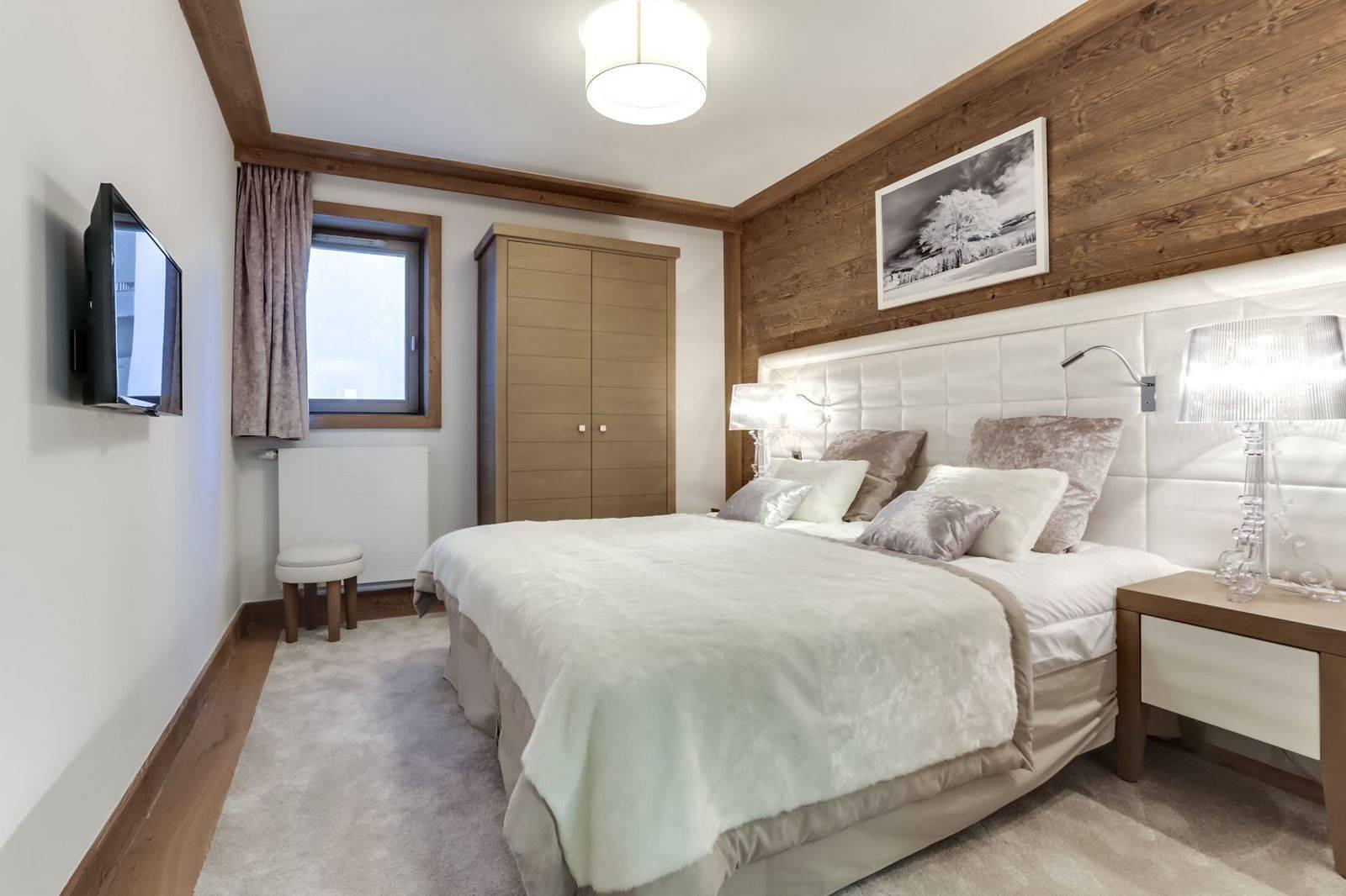 Courchevel 1550 Luxury Rental Appartment Telikia Bedroom 5