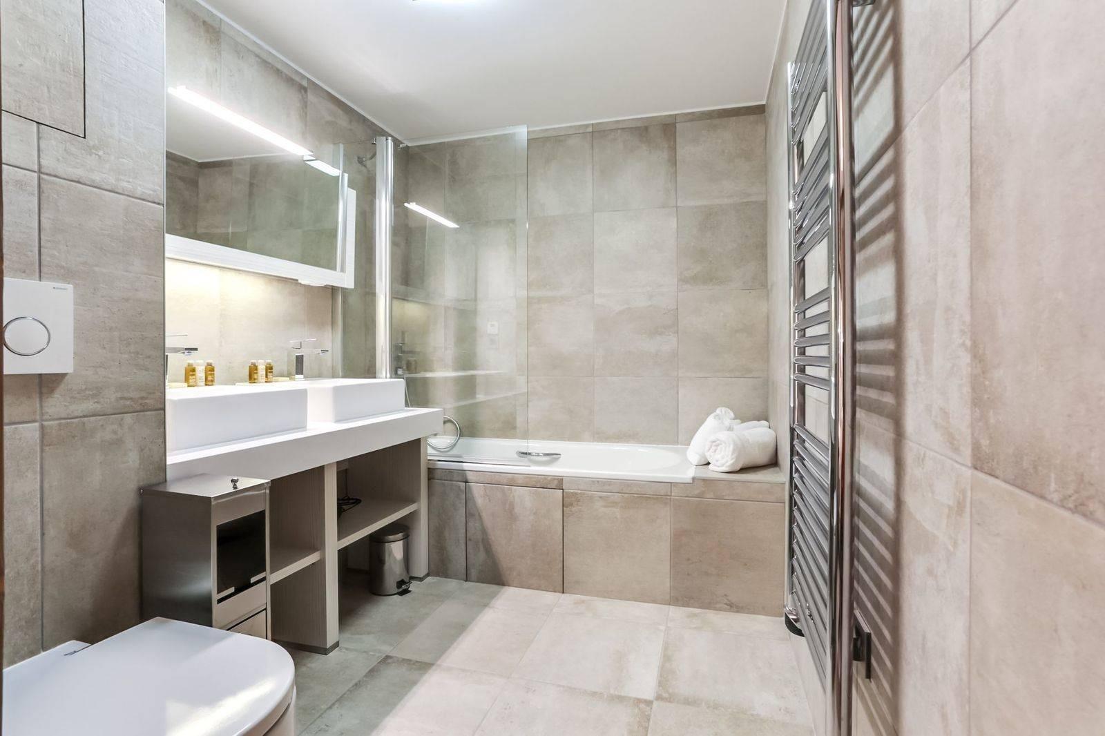 Courchevel 1550 Luxury Rental Appartment Telikia Bathroom 3