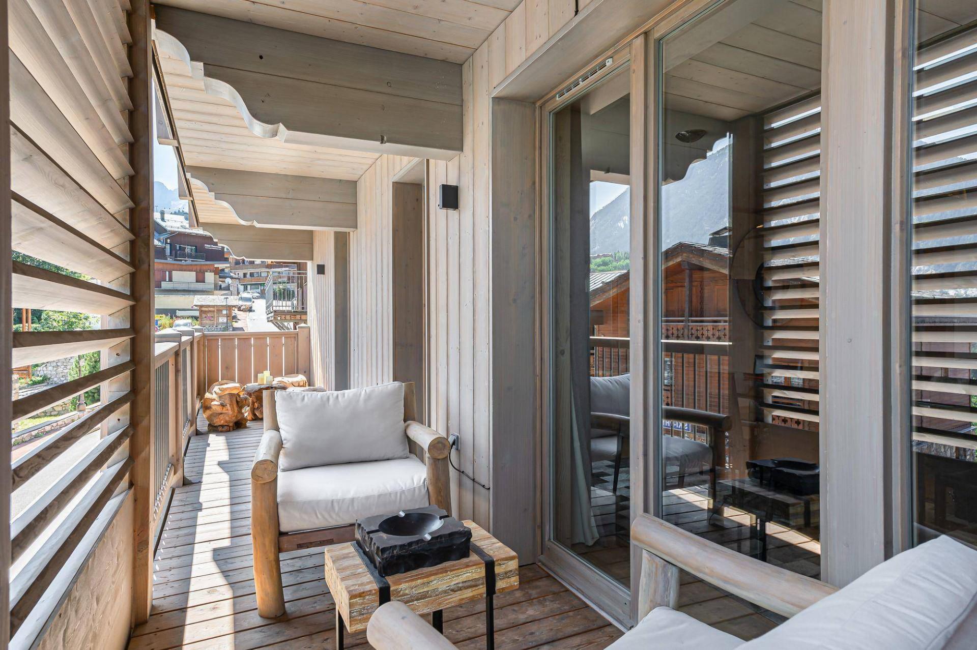 Courchevel 1550 Location Appartement Luxe Telimite Balcon 3